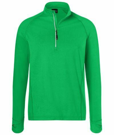 Mens Sports Shirt Halfzip (XL)