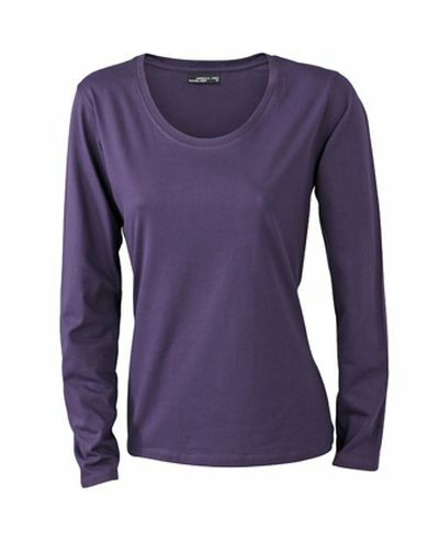 Ladies Shirt Longsl Medium (M)