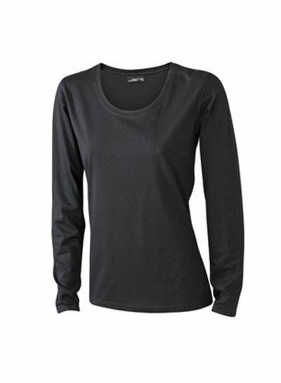 Ladies Shirt Longsl Medium (L)