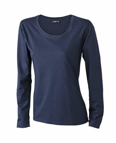 Ladies Shirt Longsl Medium (S)