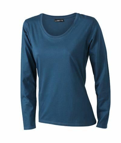 Ladies Shirt Longsl Medium (XXL)