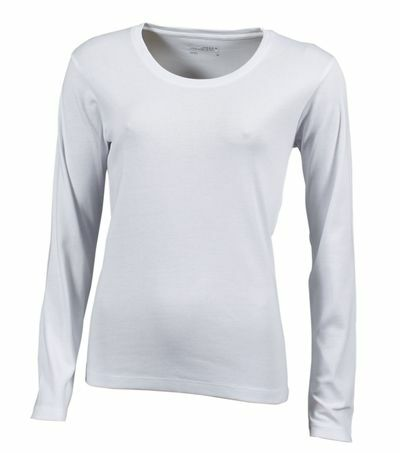 Ladies Shirt Longsleeved (S)