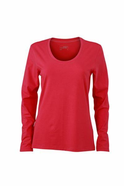Ladies Stretch Shirt Longsl (XXL)