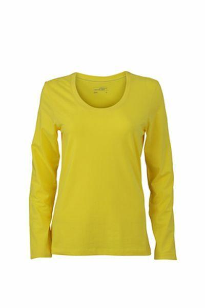 Ladies Stretch Shirt Longsl (L)