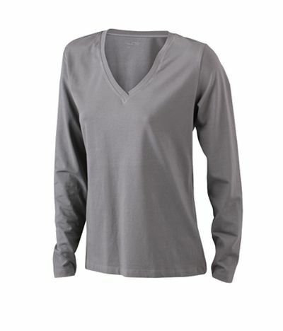 Ladies Stretch Shirt Longsl (M)