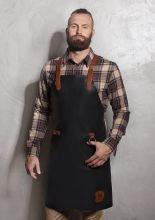 Leather Bib Apron X-Style with Cross Straps 60 x 82 cm (Stck)