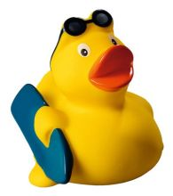 Squeaky duck surfer