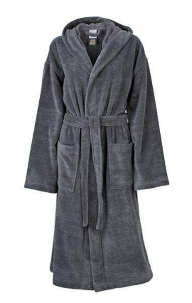 Functional Bath Robe Hooded (S)