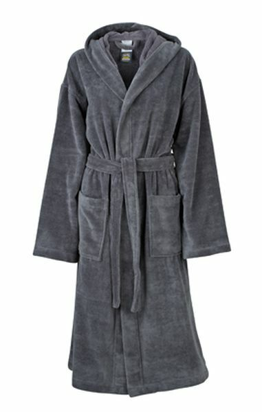 Functional Bath Robe Hooded (M)