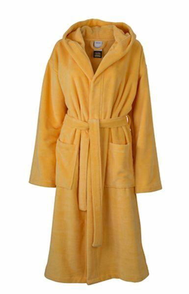 Functional Bath Robe Hooded (L)