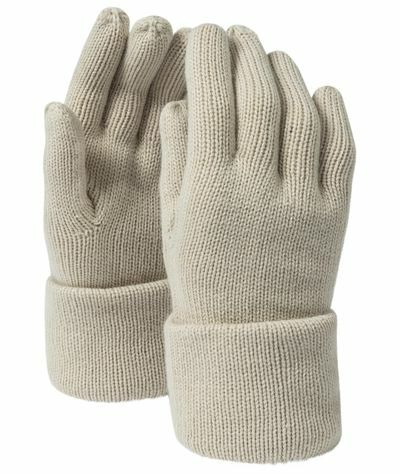 Fine Knitted Gloves (L/XL)
