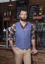 Mens Waistcoat Jeans-Style (56)