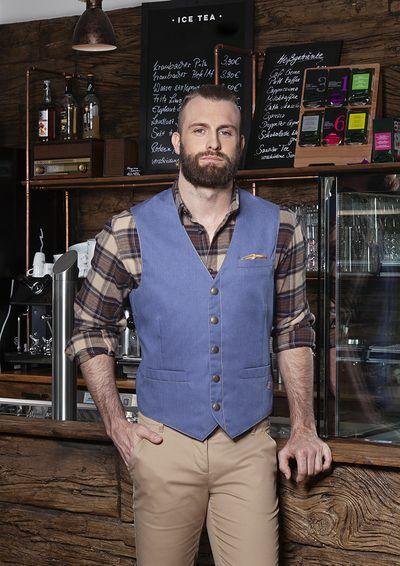 Mens Waistcoat Jeans-Style (54)