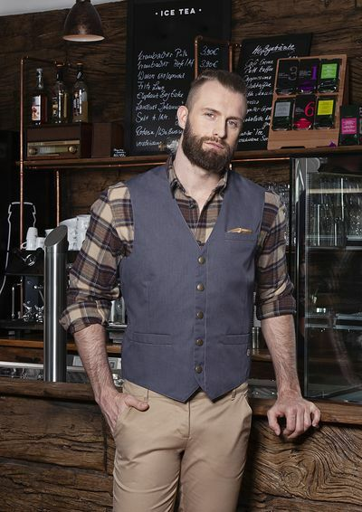 Mens Waistcoat Jeans-Style (52)