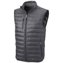 Lehká péřová vesta Fairview šedá