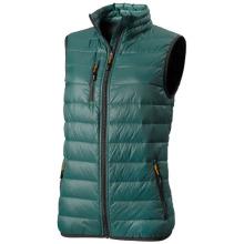 Lehká péřová vesta Fairview zelená