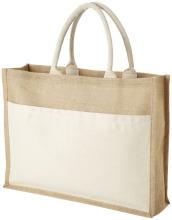 Mumbay jutová nákupní taška