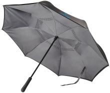 """Reverzní deštník Lima 23"""" stříbrný"""
